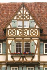 Alemania, Baden-Wurtemberg, Maulbronn, recinto del Monasterio, estación de Bomberos