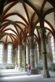 Alemania, Baden-Wurtemberg, Maulbronn, Monasterio, comedor