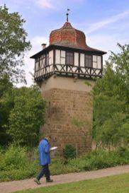 Alemania, Baden-Wurtemberg, Maulbronn, Monasterio, torre de Fausto