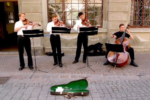 Alemania, Lago de Constanza, Constanza , Un cuarteto de cuerdas maravillosos, retrato