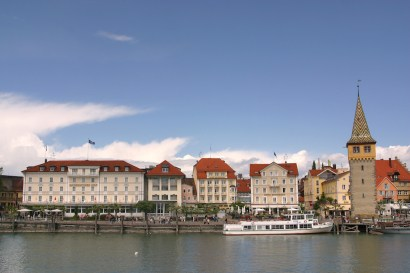 Alemania, Lago de Constanza, Lindau, puerto
