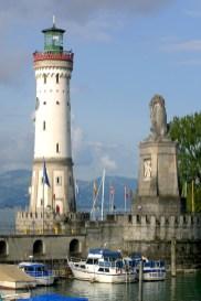 Alemania, Lago de Constanza, Lindau, faro