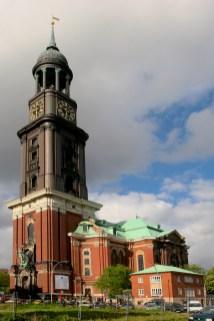 Alemania, Hamburgo, Iglesia St Michaelis