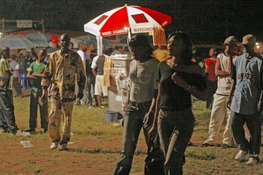 Camerún, Kribi, salida nocturna