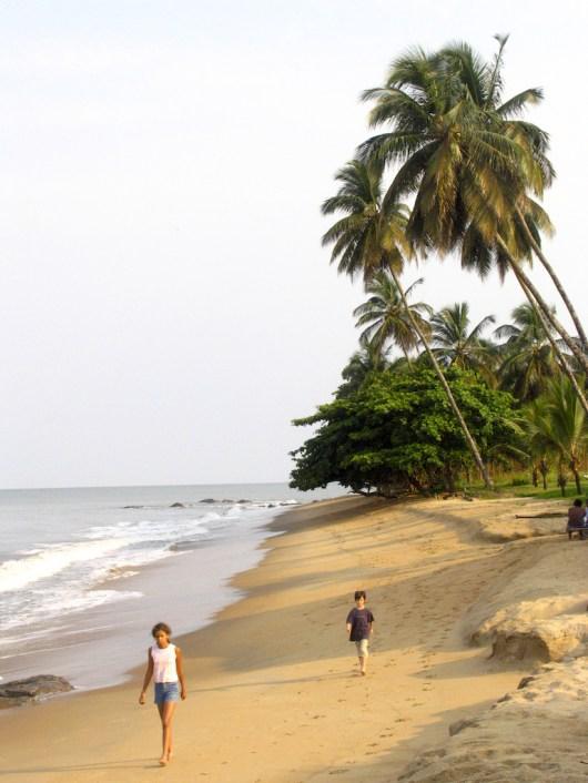 Camerún, Limbe, Playa