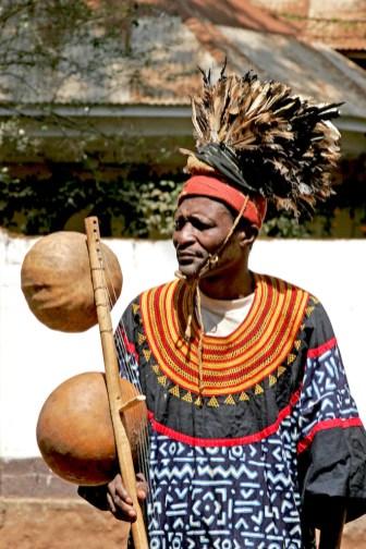 Camerún, Foumban, música tradicional