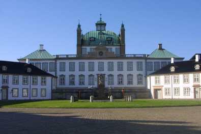 Isla Seeland, residencia de verano de la familia real