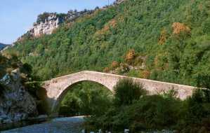 Catalunya, Gironès, Catalunya, Gironès, El Ripollès, Vall de Ribes, Puente de La Cabreta, Río Freser