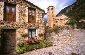 Catalunya, El Ripollès, Beget, Alta Garrotxa