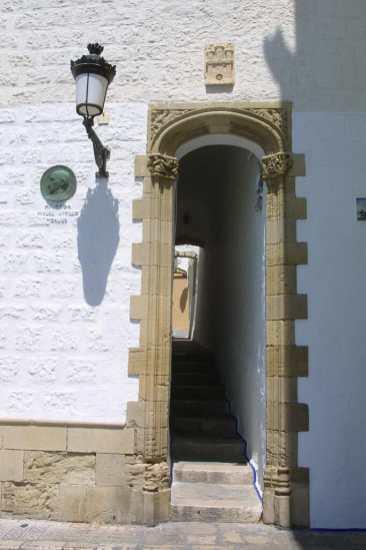 El Garraf, Sitges, puerta
