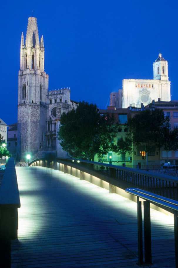 Catalunya, Girona, nocturno