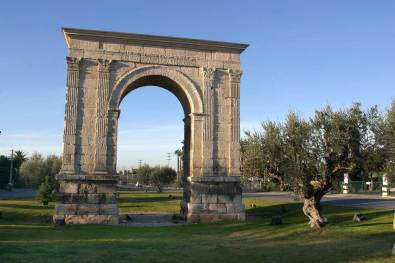 Catalunya, Tarragona, Acueducto, Ciudad Romana, Tarraco, puerta