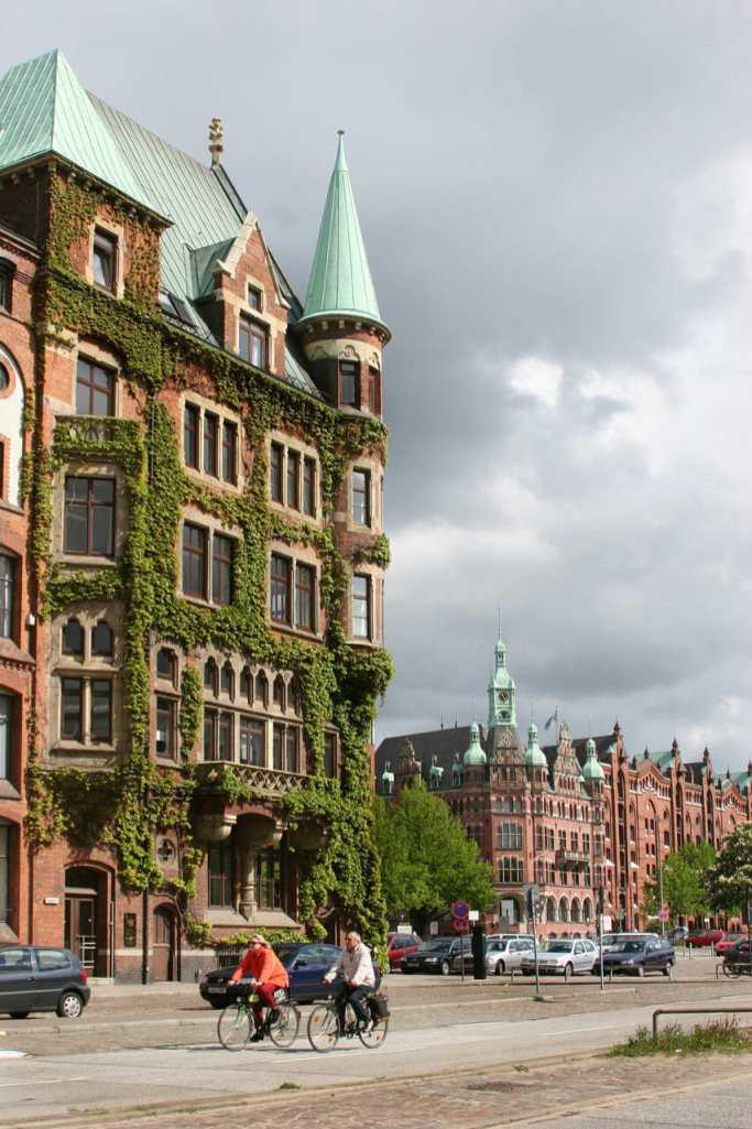 Alemania, Hamburgo Ciudad de Los Almacenes