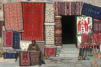 Túnez, Medenine, Kasar, venta, Alfombras.