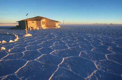 Bolivia, Salar de Uyuni, hotel de Sal