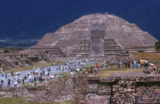 México, Teothiuacan, Piramide de la Luna