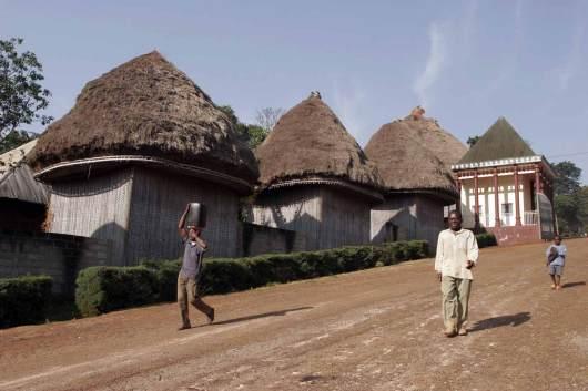 Camerun, Banjoun, Chefferie