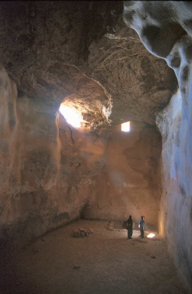 Israel, Masada, Fortaleza de Herodes, Cisterna
