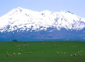 Nueva Zelanda, Isla del Sur, Volcan Ruhapehu
