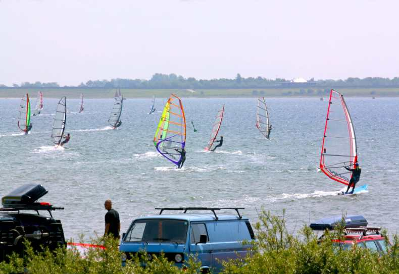 Holanda, Zelanda, Burg-Haamstede, Windsurf