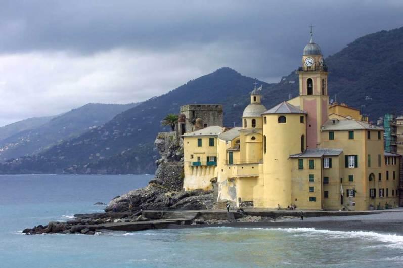 Liguria, Génova, Camogli, Golfo de Paradiso