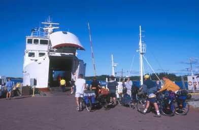 Archipiélago de Aland, Isla Kökar, FerryArchipielago Aland