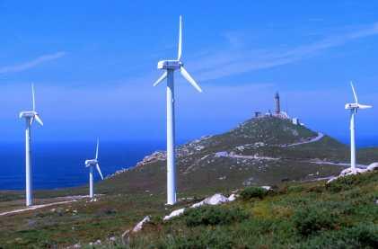 Galicia, Costa da Morte, henergia eolica