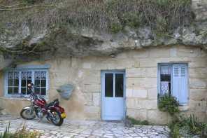 Francia. Turena, Casa Troglodita