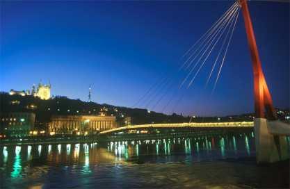 Francia, Lyon, Río Saone