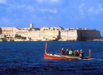 Malta fortaleza gondola