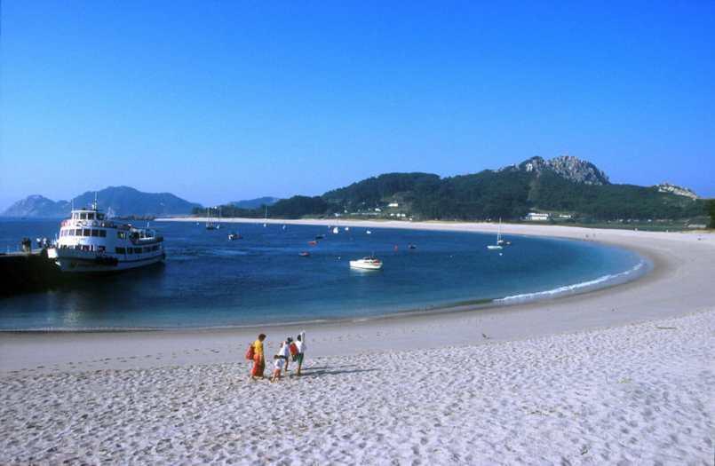 Galicia, Islas Sies