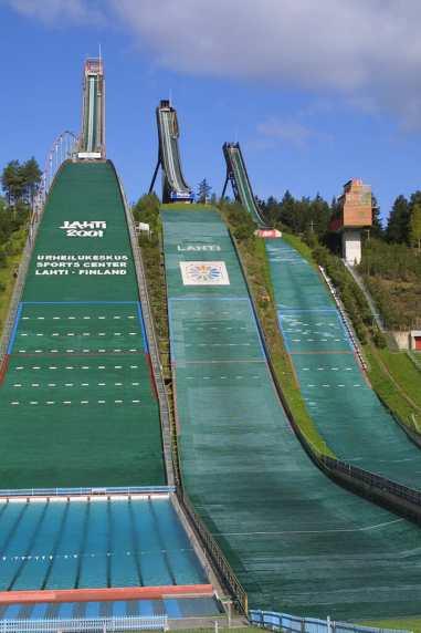 Lahti, Rampa Salto de Esqui