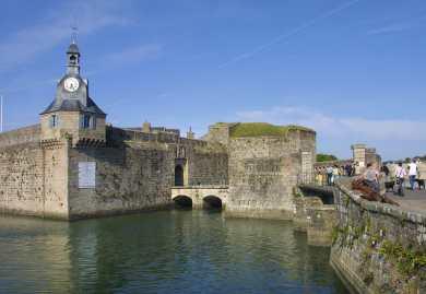 "Bretaña, Concarneau, Finistere, ""Ville Close"""