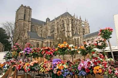 Francia, Loira Atlántico Sarthe, Le Mans,Catedral