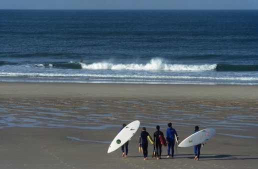 Francia. Medoc, Playa, Lacanau Ocean