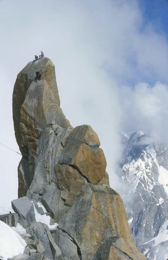 Francia, Alta Saboya, Chamonix, Mont Blanc, Aiguille Du Mid