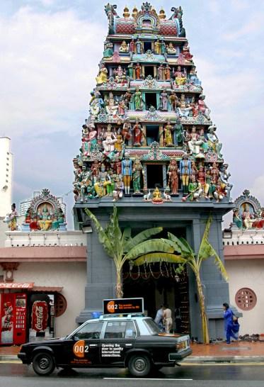 Singapur, Chinatown, templo Sri Mariamman