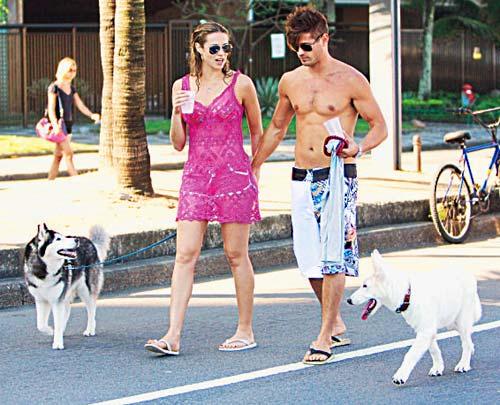 Cachorrada entre Dado e Luana