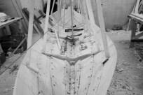 Håkon bygger sin egen Åfjordsgeitbåt. Fin blir den og!