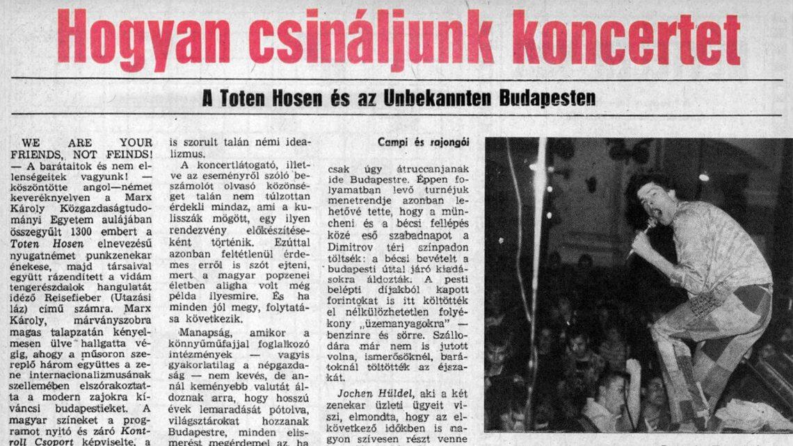 magyar-ifjusag-cikk-1983-TotenHosen