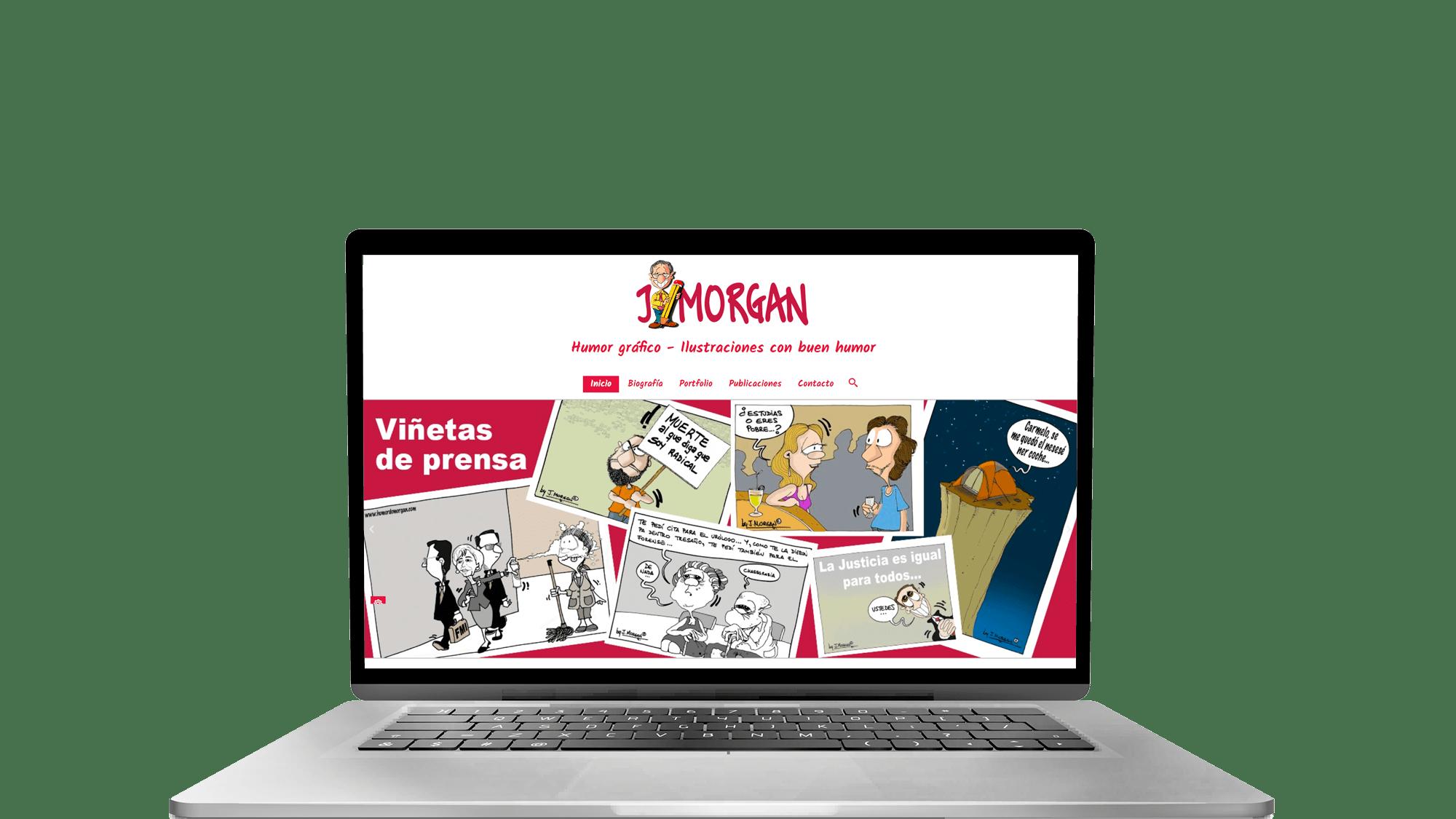 Página web de Humor de Morgan