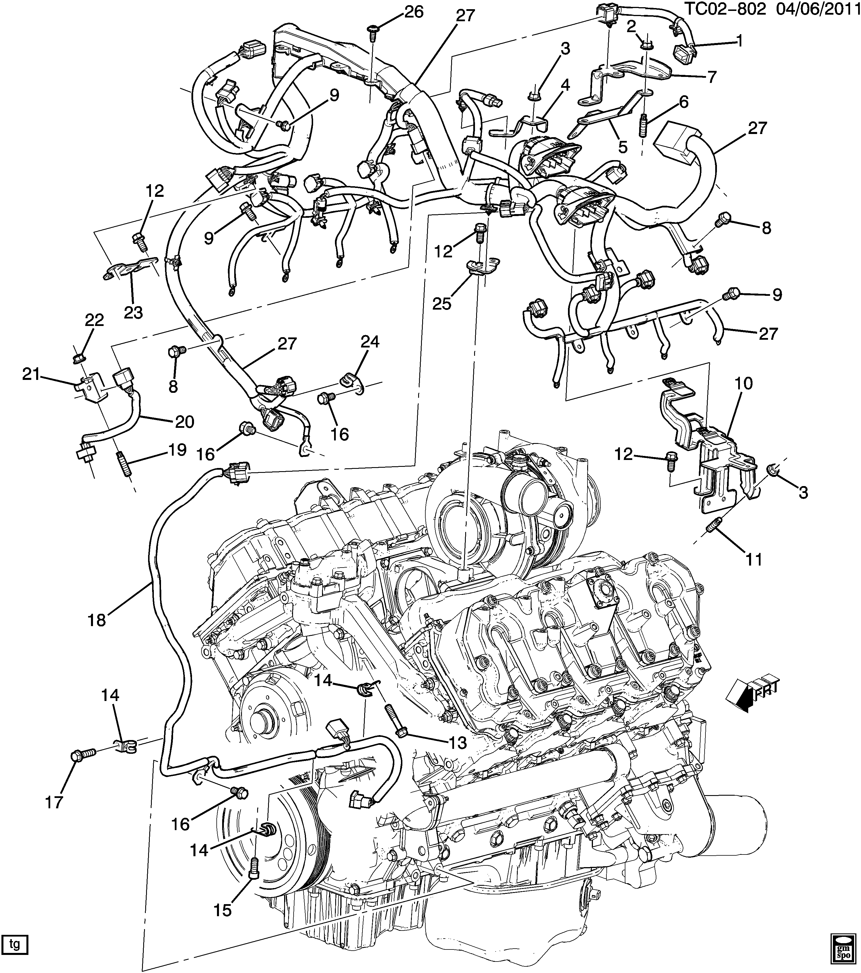 Gmc C 6 6 Engine Wiring Diagram