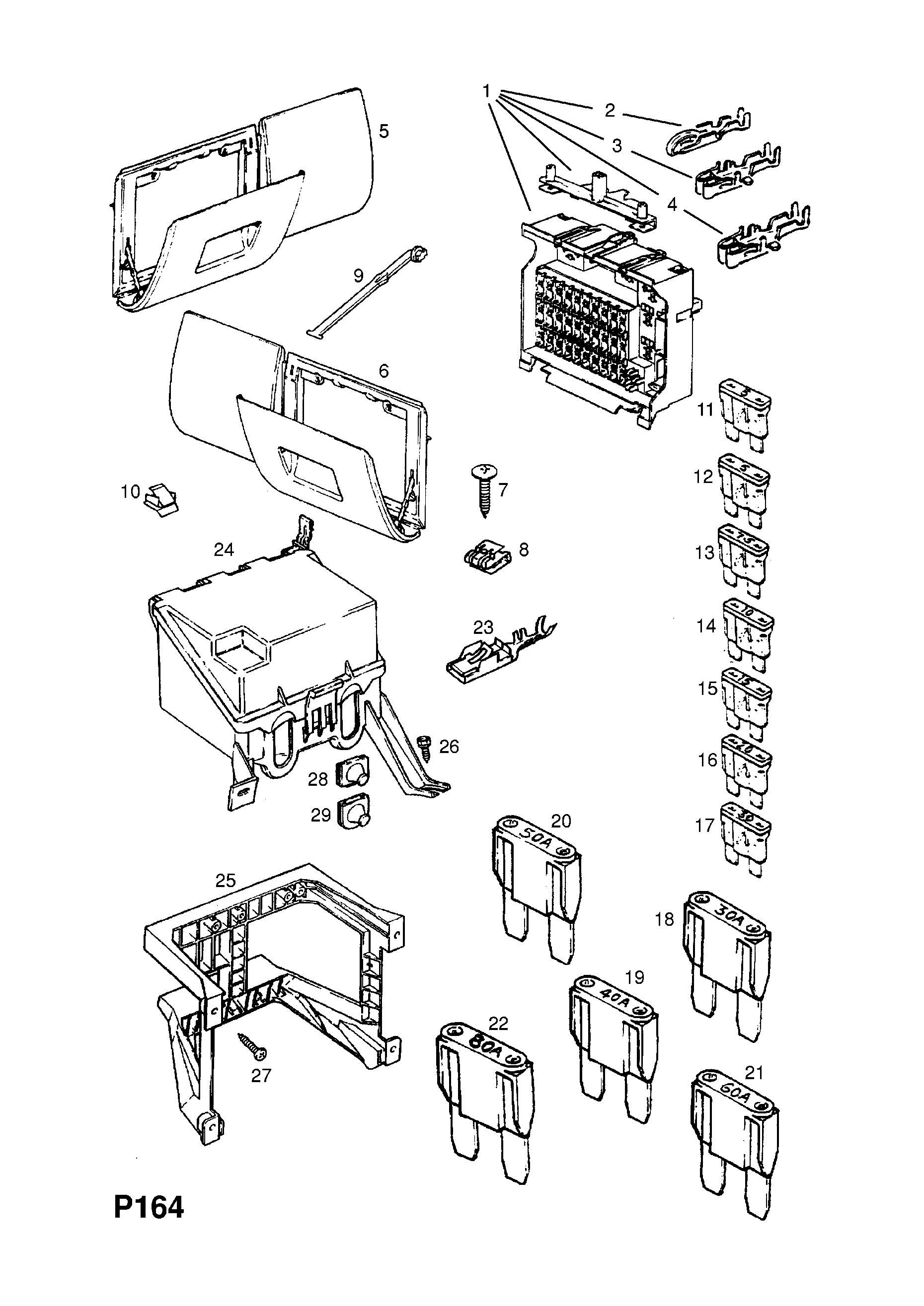 Fuse Box Diagram For Corsa B