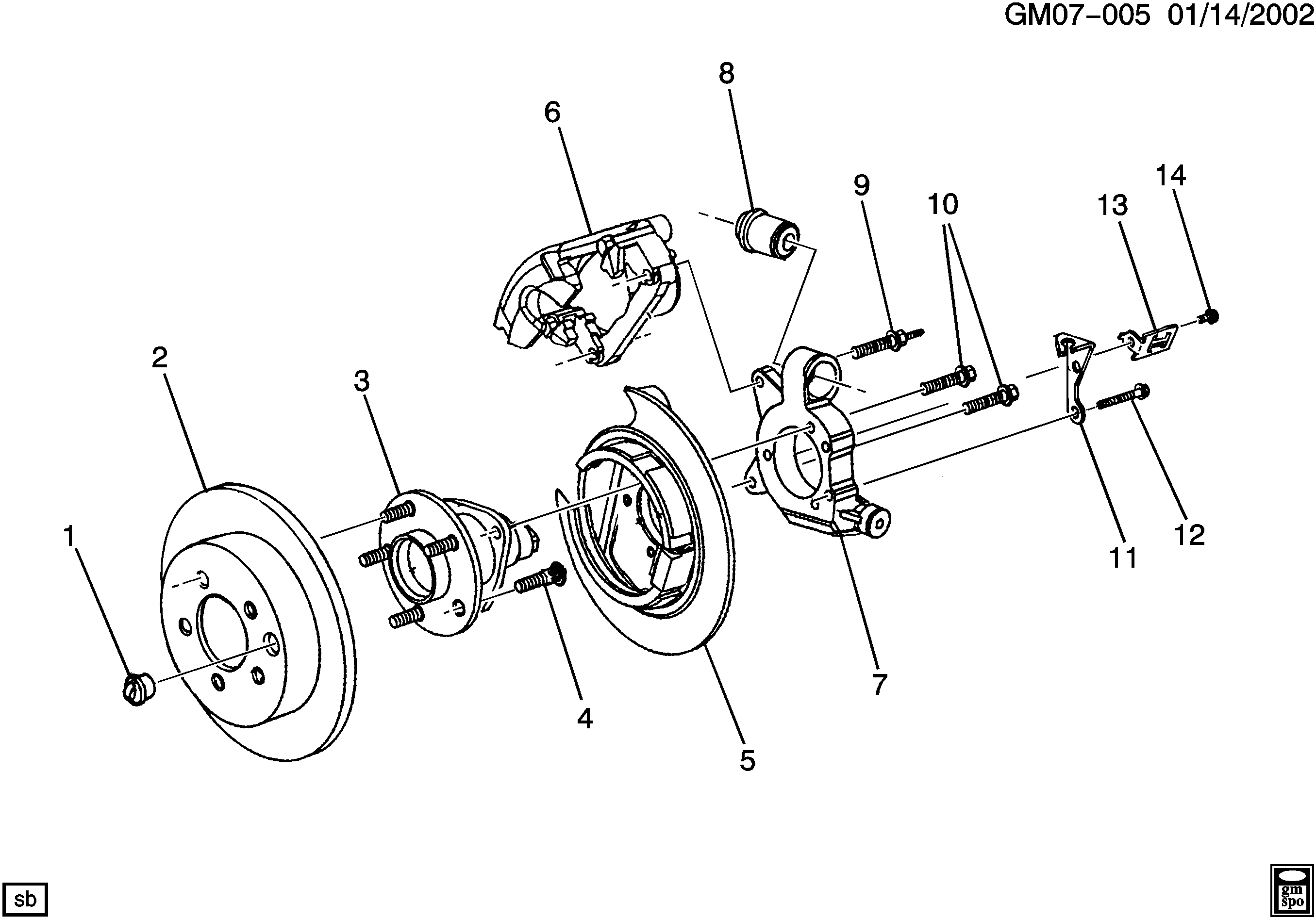 Buick Rendezvous Rear Suspension Diagram