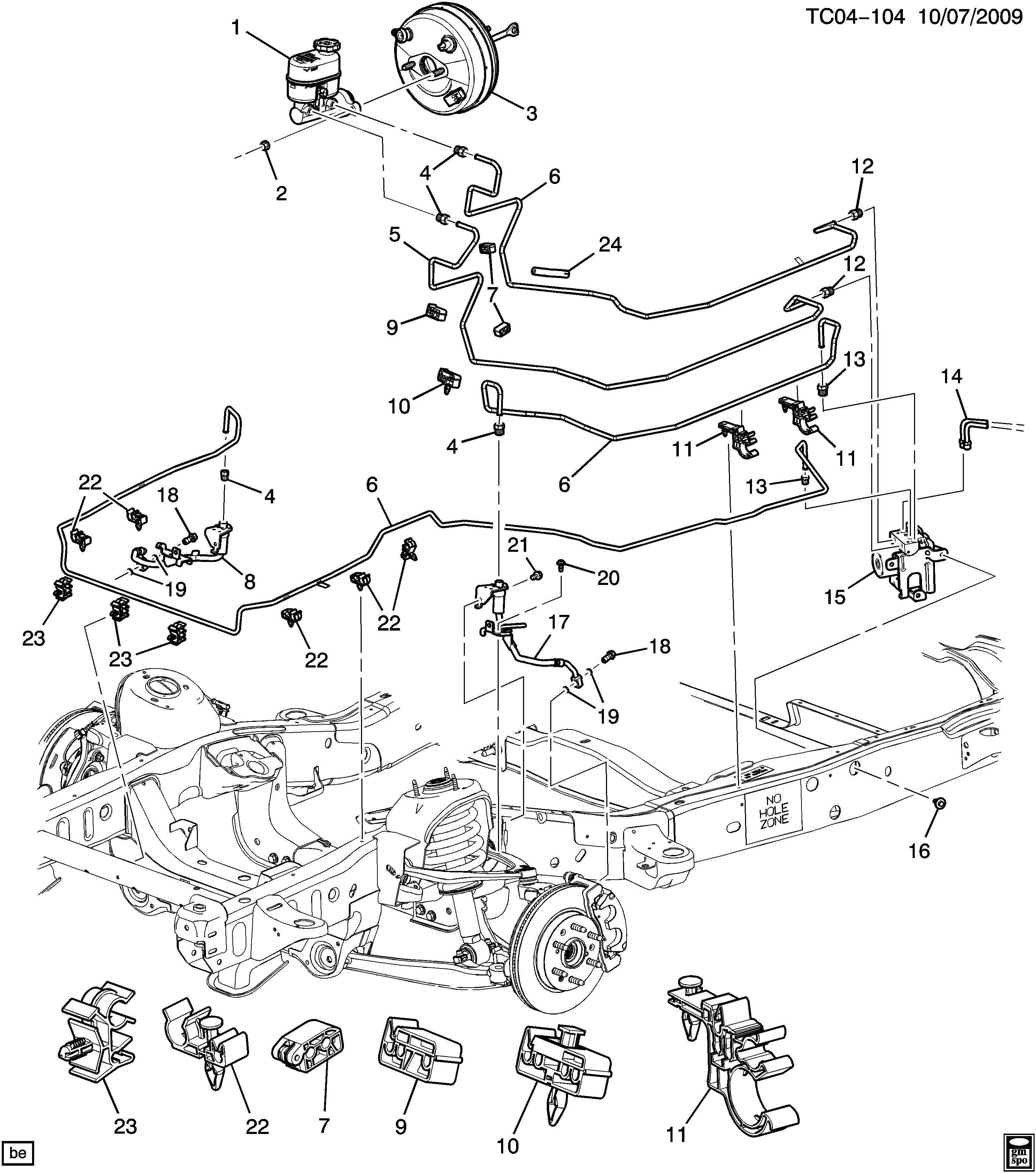 Gmc Sierra Brake Line Diagram