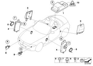 BMW Z4 30i  Electric parts, airbag > BMW ETK Online