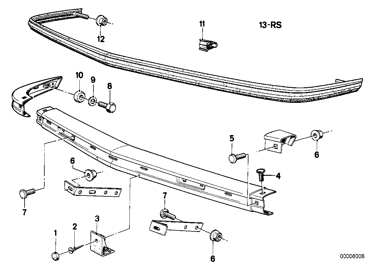 Bmw Front Bumper Parts Diagram