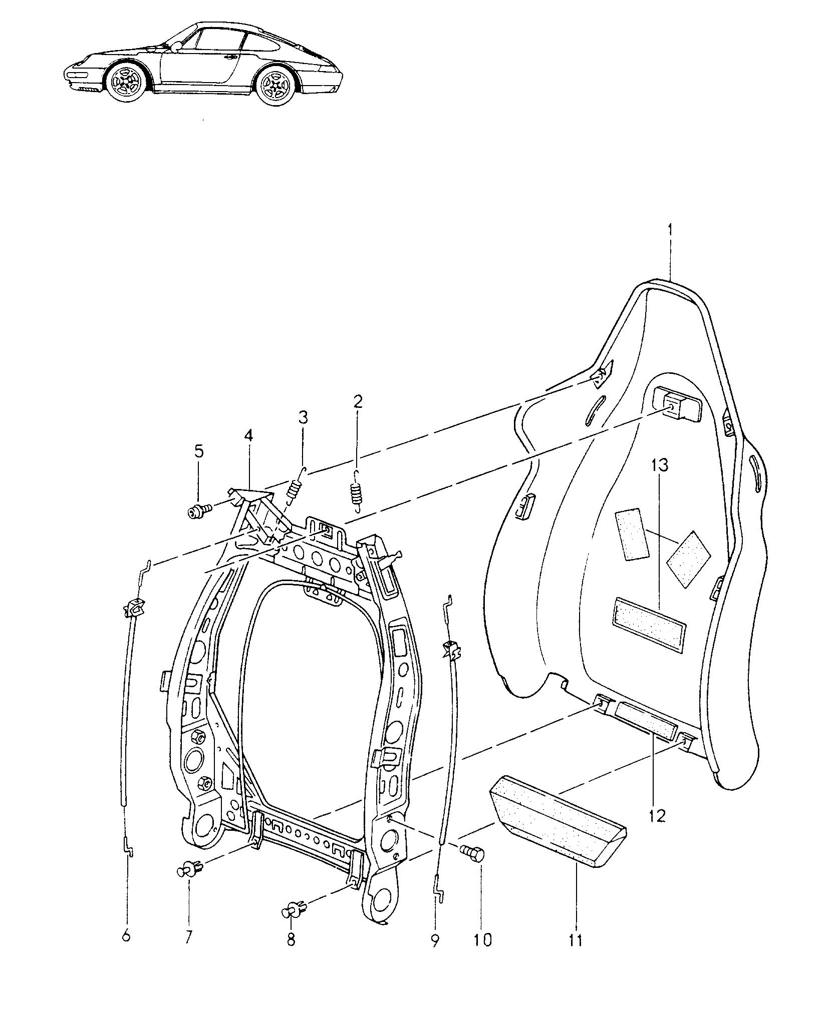 Porsche 928 Parts Catalog