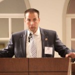 Richard Raymond, Chairman of the NEMLEC Foundation and CEO of Armstrong Ambulance opened the summit