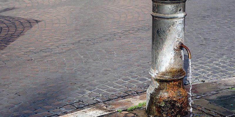 NASONI: ROME'S FREE DRINKING FOUNTAINS